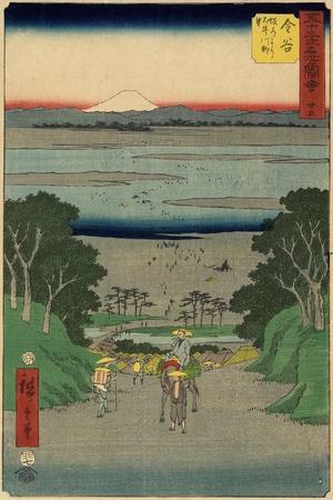 No.25 O-I River, Kanaya, July 1855