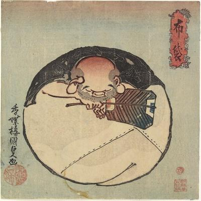 Hotei God, C. 1830-1844