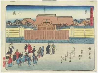 Royal Palace in Kyoto, 1837-1844