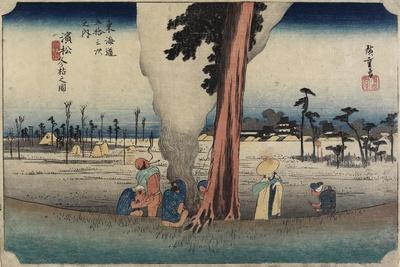 Winter Scene, Hamamatsu, C. 1833