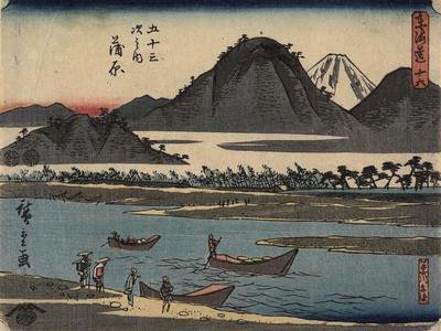 No.16 Kanbara, 1847-1852