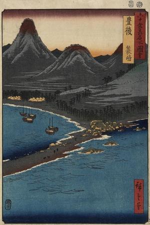 Minosaki Beach, Bungo Province, April 1856