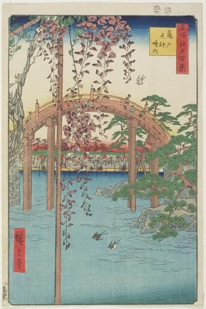 Kameido Tenjin Shrine, July 1856