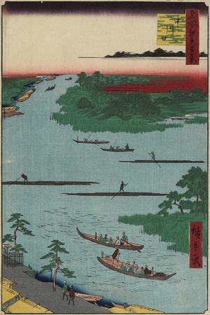 Nakagawa River Mouth, March 1857