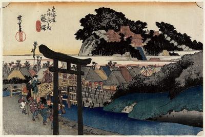 Yugyoji Temle, Fujisawa, C. 1833