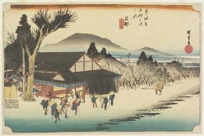 Megawa Village, Ishibe, C. 1833