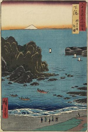 Choshi Beach at the Open Sea, Shimosa Province, August 1853
