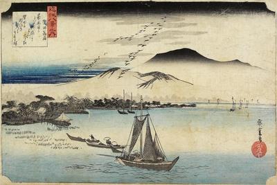 Geese Homing at Katada, C. 1834