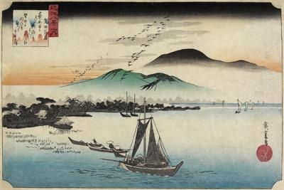 Homing Geese at Katada, C. 1834