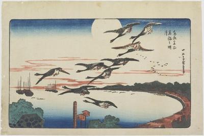 Moonlight at Takanawa, C. 1831