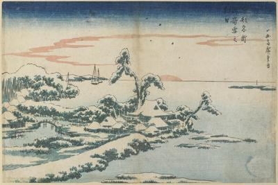 New Year's Day Sunrise at Susaki in Snow, Mid 19th Century
