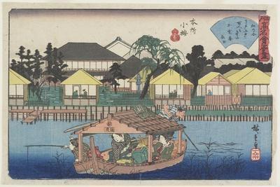 Ogura-An at Koume in Honjo, C. 1835-1842