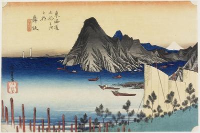 Actual View of Imagiri, Maisaka, C. 1833