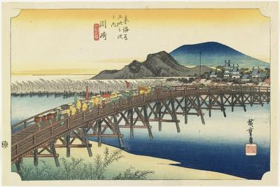 Okazaki--Yahagi Bridge, C.1833