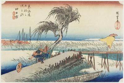 Mie River, Yokkaichi, C. 1833