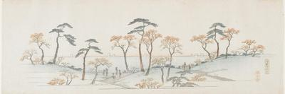 Colored Leaves at Kaianji Temple, 1837-1844