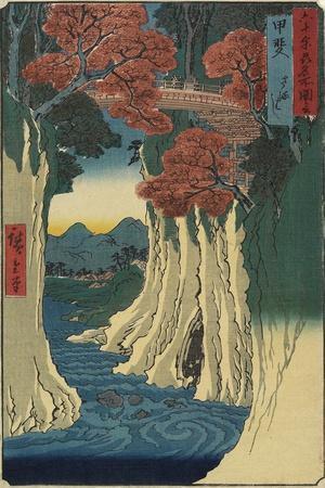 Monkey Bridge, Kai Province, August 1853