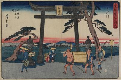 The Fork of Akiba in Kakegawa, 1843-1847