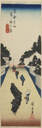Evening View of Kasumigaseki, 1830-1844