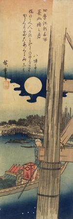 Moon over Ryo Goku, Summer, 1833-1834