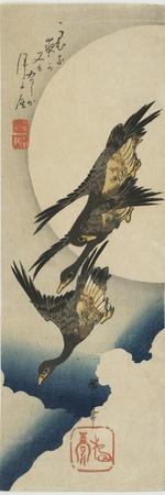 Wild Geese across the Moon, 1834-1839