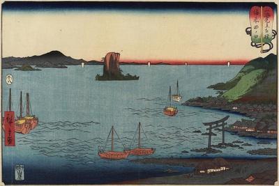 Tanokuchi in Bizen Province, August 1858