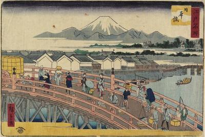 Nihonbashi Bridge, 1830-1858