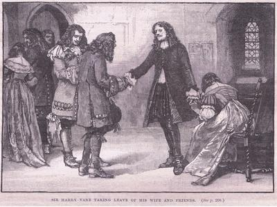 Sir Henry Vane Taking Leave of His Wife and Friends