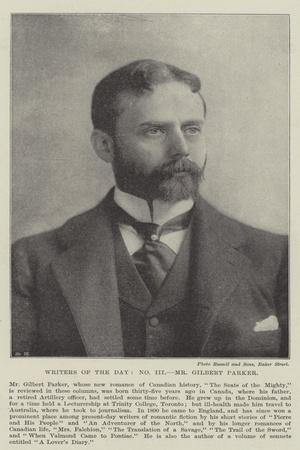 Writers of the Day, Mr Gilbert Parker