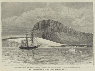 Arctic Exploration, Eira Harbour, Franz Josef Land, the Supposed Winter Quarters of Mr Leigh Smith