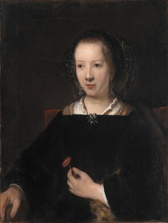 Young Woman with a Carnation, 1656