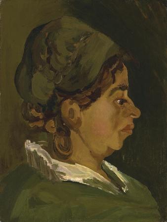Head of a Peasant Woman: Right Profile, 1884