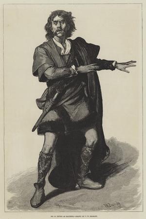 Mr H Irving as Macbeth