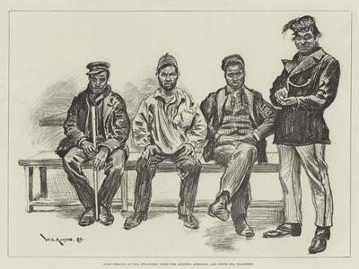 Some Inmates of the Strangers' Home for Asiatics, Africans, and South Sea Islanders