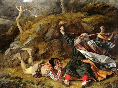 King Lear and the Fool in the Storm, C.1851