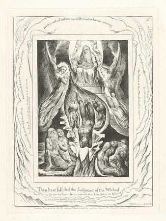 Thou Hast Fulfilled the Judgment of the Wicked, 1825