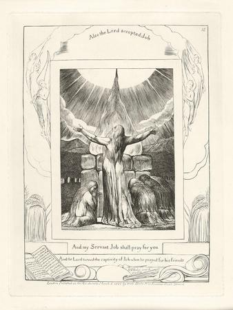 And My Servant Job Shall Pray for You, 1825