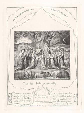 Thus Did Job Continually, 1825