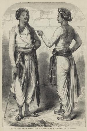 Bengal Sepoys Out of Uniform