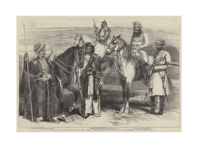 Native Officers and Soldiers in the East India Company's Service