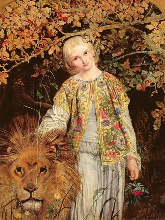 Una and the Lion, Exh. 1860