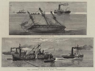 The Attempt to Raise HMS Eurydice