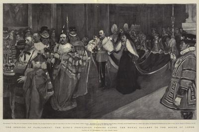 The Opening of Parliament