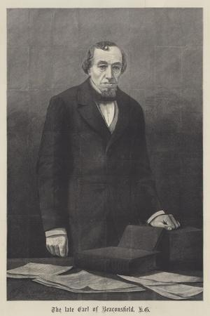 The Late Earl of Beaconsfield, Kg