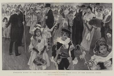 Twelfth Night in the City, the Children's Fancy Dress Ball at the Mansion House