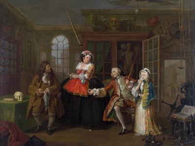 Marriage a La Mode: III - the Inspection, C.1743