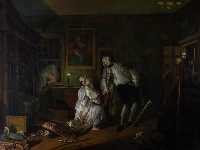 Marriage a La Mode: V, the Bagnio, C.1743