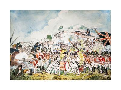 The Queen's Own Royal Dublin Militia Going into Action at the Battle of Vinegar Hill, Wexford, 1798