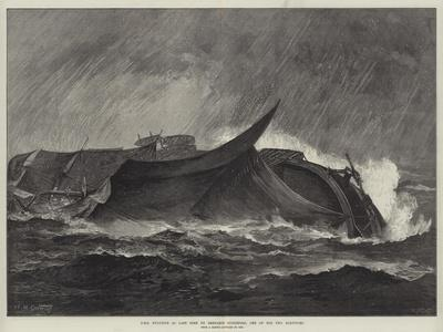 HMS Eurydice as Last Seen by Benjamin Cuddiford, One of the Two Survivors