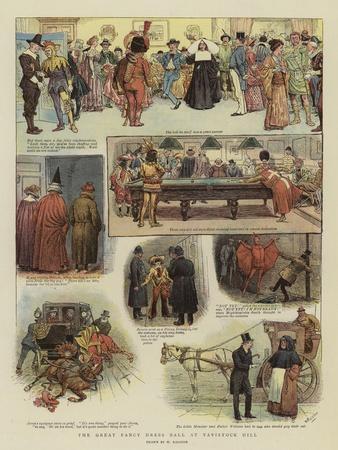 The Great Fancy Dress Ball at Tavistock Hill